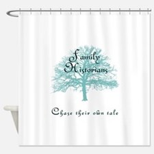Family Historian Chase Tale Shower Curtain