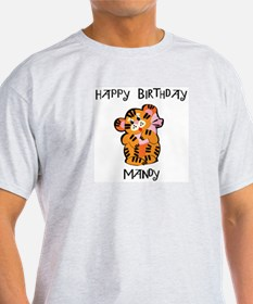 Happy Birthday Mandy (tiger) T-Shirt