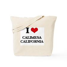 I love Calimesa California Tote Bag