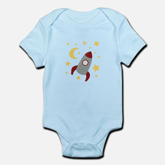 Rocket In Space Body Suit