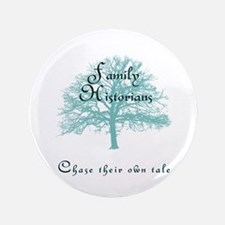 """Family Historian Chase Tale 3.5"""" Button (100 pack)"""