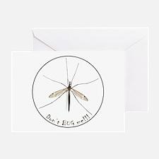 Helaine's Bug Greeting Card