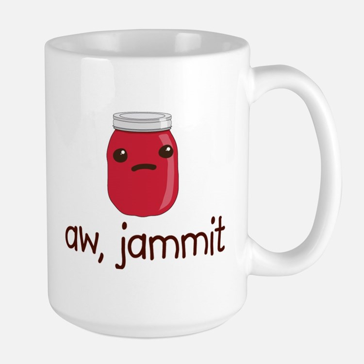 aw, jammit Mugs