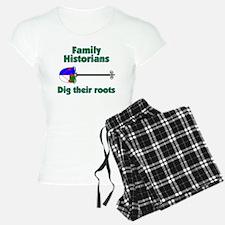 Family Historians Dig Roots Pajamas