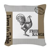 Rooster Throw Pillows