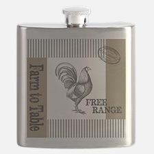 Modern Vintage Farmers Market Flask