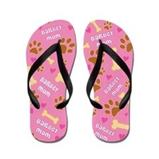 Barbet Dog Mom Flip Flops