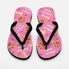 Barbet Dog Mom Flip Flops