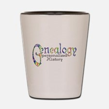 Genealogy Personalized History Shot Glass