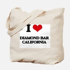 I love Diamond Bar California Tote Bag