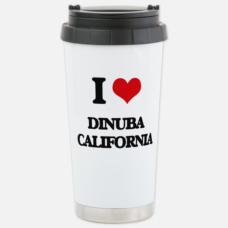 I love Dinuba Californi Travel Mug