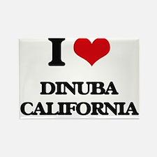 I love Dinuba California Magnets