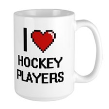 I love Hockey Players Mugs