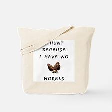 Funny Morel mushroom Tote Bag
