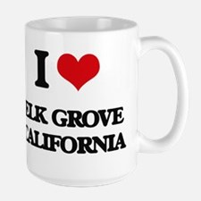 I love Elk Grove California Mugs