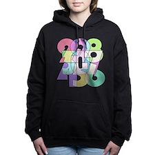 Cubistic # Women's Hooded Sweatshirt