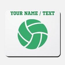 Green Volleyball (Custom) Mousepad