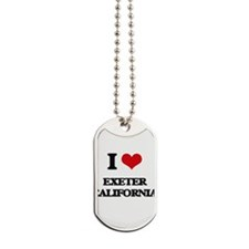 I love Exeter California Dog Tags