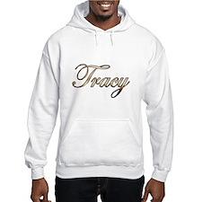 Gold Tracy Hoodie Sweatshirt