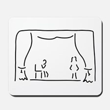actor theatre stage Mousepad