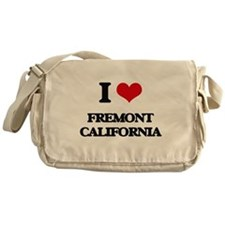 I love Fremont California Messenger Bag