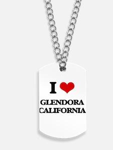 I love Glendora California Dog Tags