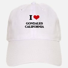 I love Gonzales California Baseball Baseball Cap