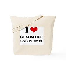 I love Guadalupe California Tote Bag