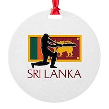 Sri Lanka Cricket Ornament