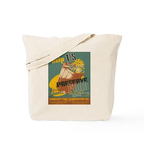 PRESERVE FOOD canvas bags