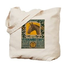 VETERINARY CORPS canvas bag