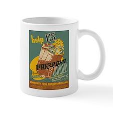 PRESERVE FOOD coffee cup