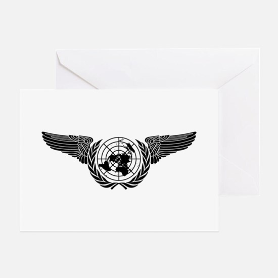 United Nations Forces Greeting Card