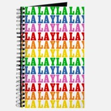 Rainbow Name Pattern Journal