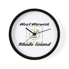 West Warwick Rhode Island Wall Clock