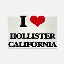I love Hollister California Magnets