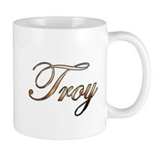 Gold Troy Mugs