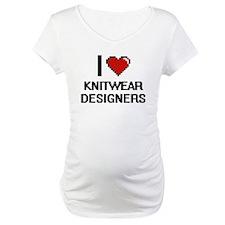 I love Knitwear Designers Shirt
