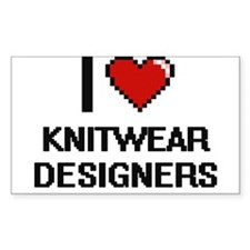 I love Knitwear Designers Decal