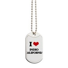 I love Indio California Dog Tags