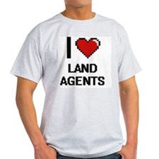I love Land Agents Women's Cap Sleeve T-Shirt