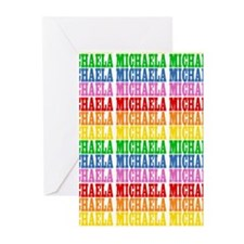 Rainbow Name Pattern Greeting Cards (Pk of 10)