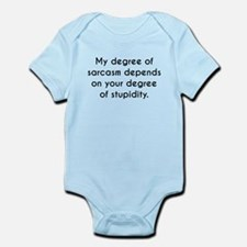 My Degree Of Sarcasm Body Suit