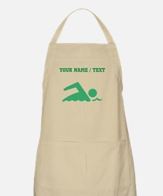 Green Swimmer (Custom) Apron