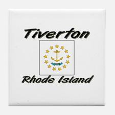 Tiverton Rhode Island Tile Coaster