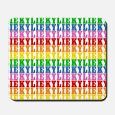 Rainbow Name Pattern Mousepad