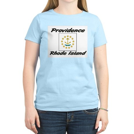 Providence Rhode Island Women's Light T-Shirt