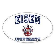 EISEN University Oval Decal