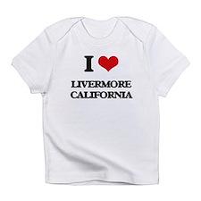 I love Livermore California Infant T-Shirt