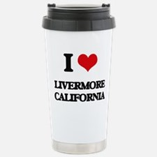 I love Livermore Califo Travel Mug